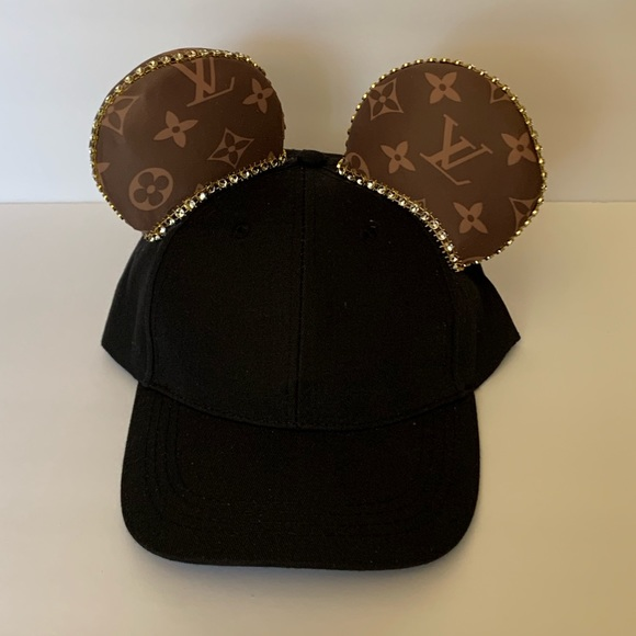 mayrafabuleux Accessories - Louis Vuitton Fabric Mickey Ears Baseball Hat